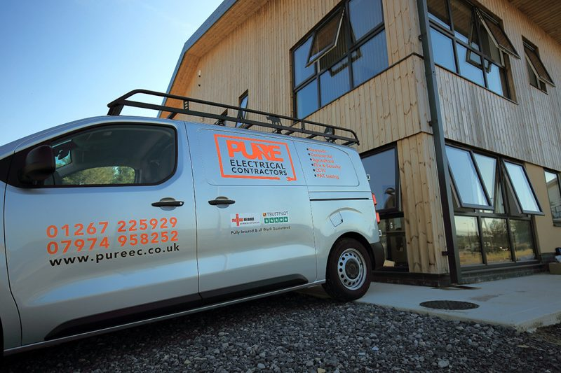 Carmarthen based electricians